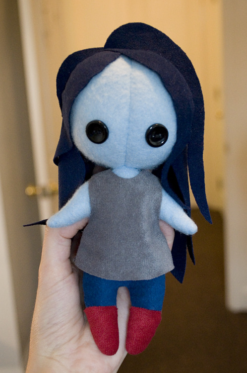 megalovania:  maskshop:  Marceline//Adventure Time I want to make another in actual Adventure Time style, but I don't know if I'll have the time! Also, I'm fine with how her hair turned out, but I think I'm going to continue to use felt from now on instead. (Btw, how about that new episode preview? Eh? Eh?)  uuuuuuuuuuuuuuuuuuuuuuuuuuuuuuu