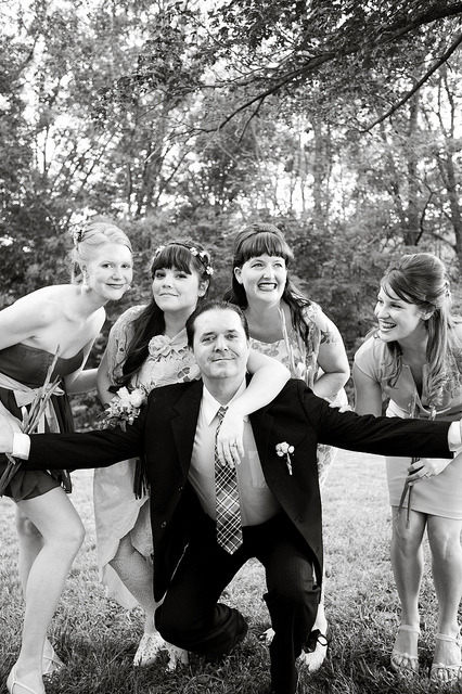 .. and here's one of my favorites with the girls and my dad being..well, dad.