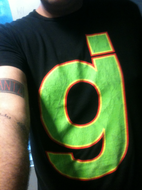 idontwearthesameshirttwice:  9/26/11 - Glassjaw Mother Fucking Glassjaw! They were pioneers of Post-Hardcore. Along side Thursday and Poison the Well, they followed in the footsteps of Fugazi and changed the Hardcore scene bringing meaning too their music, lyrics, and expressing what they felt.