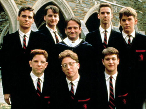 Dead Poets Society (1989) a favorite and probably why I wanted (and still want) to found a secret society with friends yawp yawp yawp // brooklyntree:ehasara