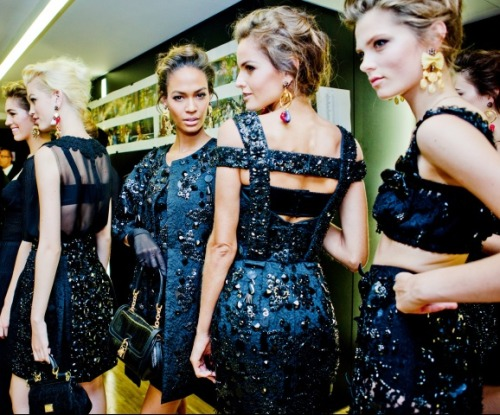 Dolce & Gabbana - SS 2012 - BackstageMilan Fashion Week