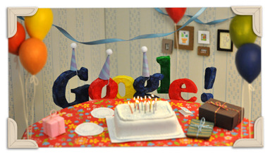 Google's 13th Birthday google - Google Search