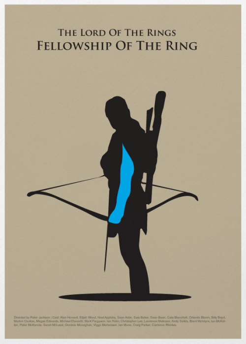 Legolas Poster - by Poster Inspired Prints available at Etsy.