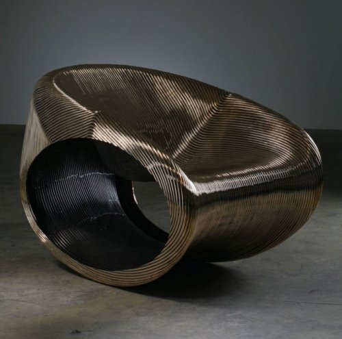 Fauteuil MT Rocker Chair by Ron Arad