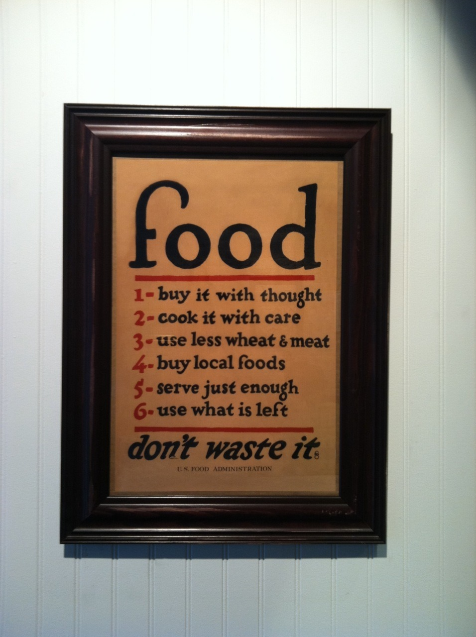 "jkalifowitz:  This sign was posted at a ""new"" healthy, fast food restaurant, Dig Inn.  I put ""new"" in quotes because it's really just a name change from Pump.  There was nothing wrong with Pump, but they really just crushed it on the re-branding.  I love everything about this place, and especially, this sign."
