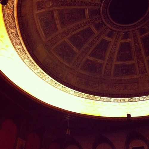 The Congress Theater is probably the most beautiful venue I've ever seen/experienced a show there. If you live in the Chicago, go see a show that's not Dayglow there!  Taken with instagram