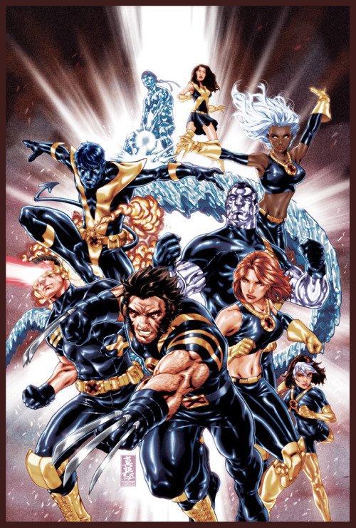 Ultimate X-Men cover by `diablo2003