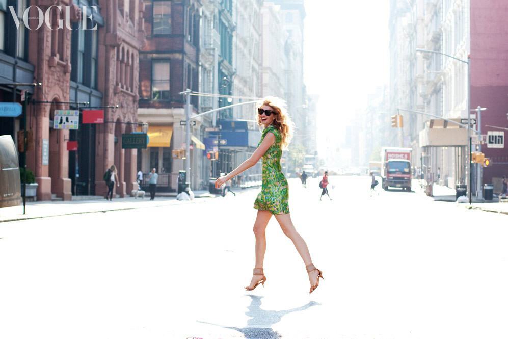 "vogueaustralia:  Candice Lake's New York state of mind. ""New York fashion week is by far my favourite of them all… well that is until I arrive into London…. and then onto Paris, but for the moment it is all about NYC!"" Image by Candice Lake."