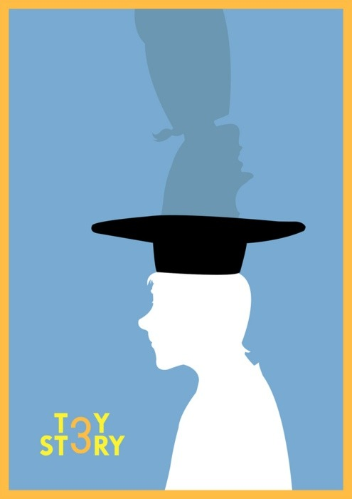 A fan created minimalist Toy Story 3 poster.