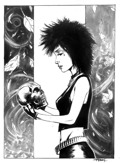 Death sketch for Women of Wonder event.