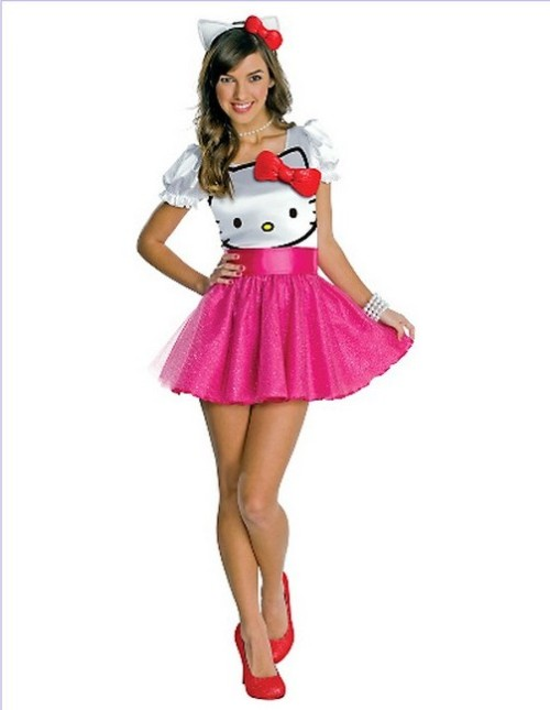 Hello Kitty Dress Costume