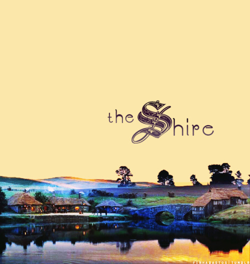 finhabastos:  The Lord of the Rings Scenery | The Shire