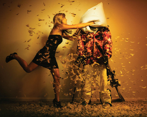 Pillow Fight. For Freeskier Magazine, November Issue 2011.