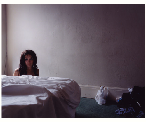 "5845a by Todd Hido ""Hido's photographs reveal isolation and anonymity in contemporary suburbia. Eerily lit rooms and suddenly abandoned homes increase the effect of loneliness and loss."" I feel the necessity to look at his work once in a while as a source of inspiration I can get lost for minutes or sometimes for hours wandering from photograph to photograph  Simply lost in his emptiness…"
