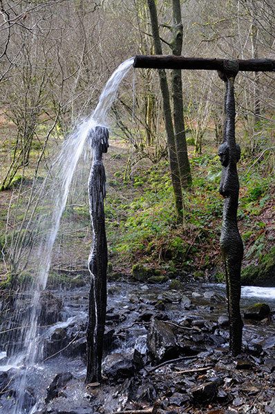 Sculpture: Lady of the Water by Alannah Robins, Cumbria. The UK's best sculptures of women, in pictures.