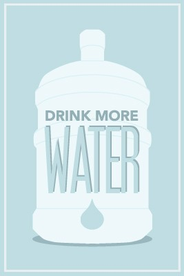 findingselflove:  DRINK MORE WATER. If you get sick of water, add a splash of lemon juice. SUPER refreshing.
