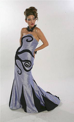 thingsmissfrizzlewouldwear:  Octopus gown