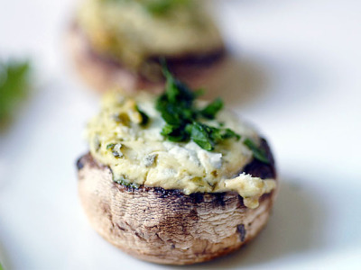 herb stuffed mushrooms by elana's pantry on Flickr.Most yummy!