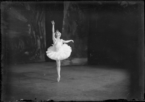 "vapours:  ""Swan lake"", Ballets Russes, [1]. by National Library of Australia Commons on Flickr."
