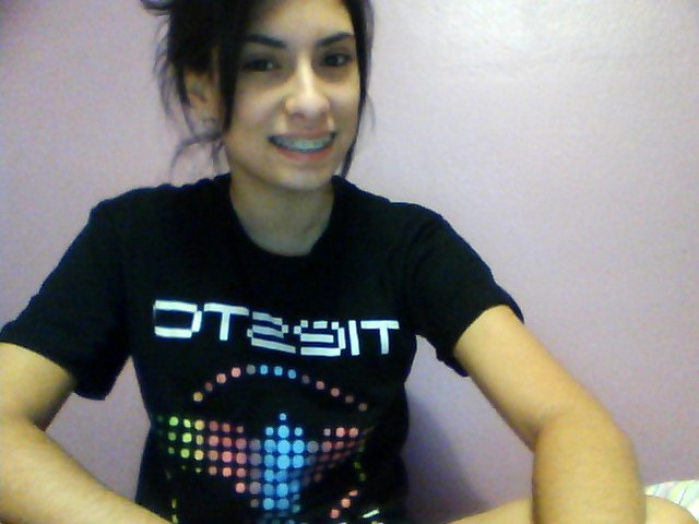 Tiesto shirt! He was amazing.