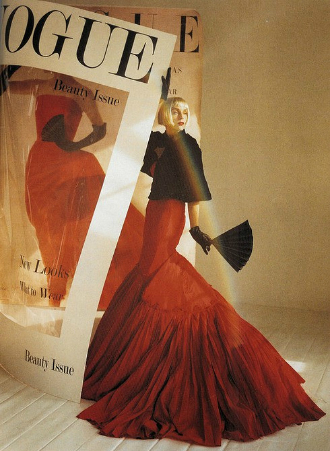 hautekills:  Hannelore Knuts by Tim Walker / Vogue Italia