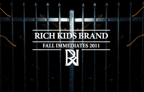 My favorite new brand, Rich Kids, just dropped their new Fall lineup and needless to say I'm quite impressed.  They are expanding their offerings and recently their line has been spotted on several notable artists such as Lil Wayne, Cyhi, Donnis, Clemm Rishad and Tinie Tempah.  Check out the new fall lineup and shop here. S/O @RichKidsBrand keep doin it
