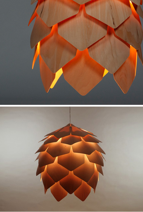 micasaessucasa:  (via pinecone lamp | the style files)