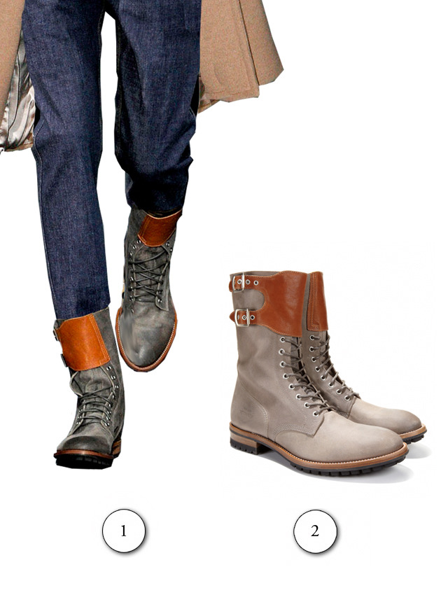 The Paul Smith boots I used in the Jay Gatsby post are for sale on Park and Bond. Oh, shit just got real. Similar stuff and crap:  Yuketens, Jack Spade Stuff, Some other Stuff, and the Post Index.