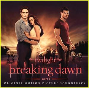 "(via 'The Twilight Saga: Breaking Dawn Part I' — Soundtrack Art & Tracklist! | Breaking Dawn, Twilight | Just Jared Jr.) 1. The Joy Formidable - ""Endtapes""2. Angus & Julia Stone - ""Love Will Take You""3. Bruno Mars - ""It Will Rain""4. Sleeping at Last - ""Turning Page""5. The Features - ""From Now On""6. Christina Perri - ""A Thousand Years""7. Theophilus London - ""Neighbors""8. The Belle Bridgade - ""I Didn't Mean It""9. Noisettes - ""Sister Rosetta (2011 Version)""10. Cider Sky - ""Northern Lights""11. Iron & Wine - ""Flightless Bird, American Mouth (Wedding Version)""12. Imperial Mammoth - ""Requeim on Water""13. Aqualung & Lucy Schwartz - ""Cold""14. Mia Maestro - ""Llovera""15. Carter Burwell - ""Love. Death. Birth."""