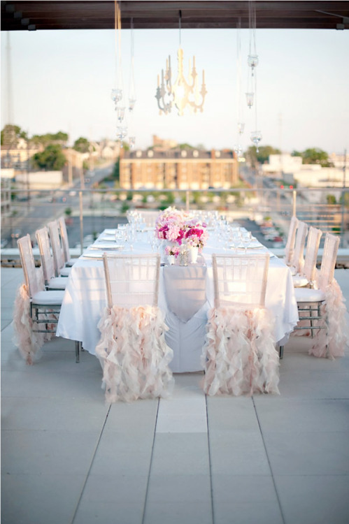 So loving this idea bridalsnob:  These chairs are so divine…
