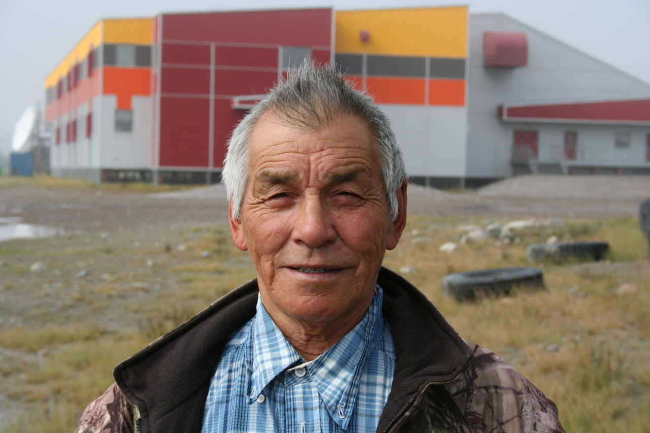 "The Beginning of ""OUR ELDERS"" Picture Series  Elder Timothy Taleriktok We enjoyed interviewing Timothy on his experiences working at the Rankin Inlet Nickel Mine. To read the blog on the interview with Timothy, click here.  Mutna to our Elders! Mutna to our Arviat coordinator, Tamar Mukyunik, for the idea of the Elder picture series :) Mutna to Curtis Konek for taking the pics!"