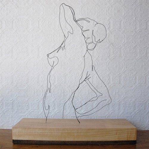 Wire Sculpture by Gavin Worth.