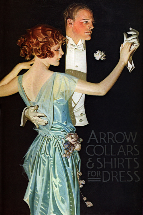 Arrow Collars and Shirts advertisement, 1910s