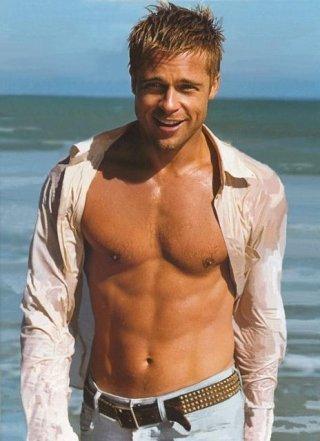 Brad Pitt fitspo
