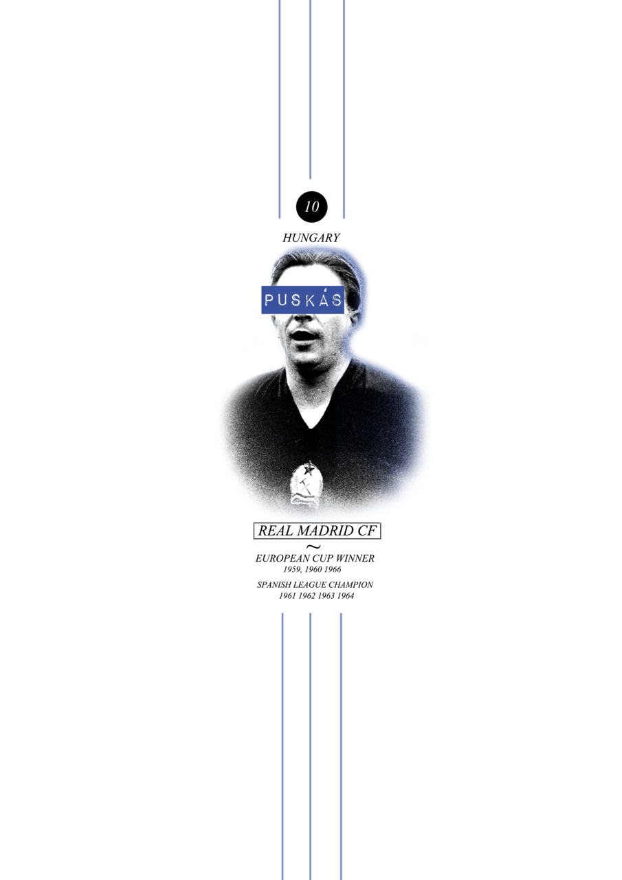 ohthehumanityyy:  F.Puskas (request: the_randomski) buy a poster HERE