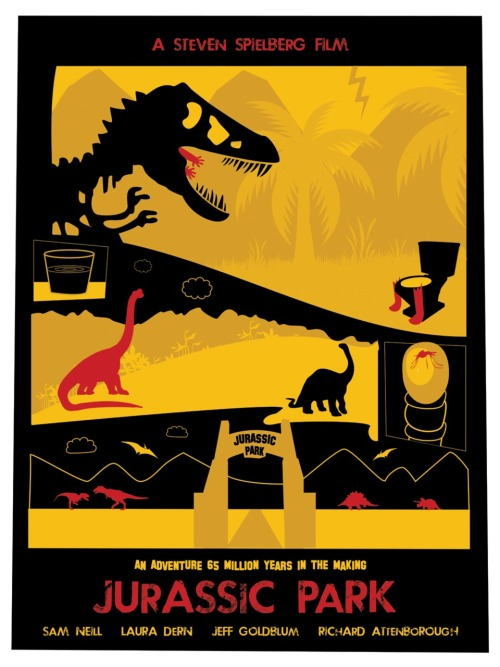 Jurassic Park by Dave Williams