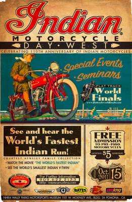 xbfongx:  Indian Motorcycles 110th Anniversary