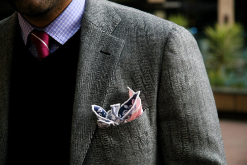 thediscoursecircus: Pocket Square, times two.