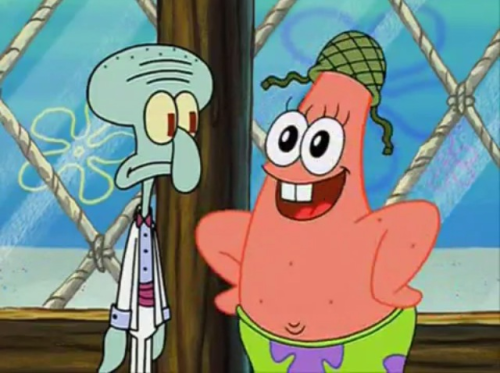 """May I take your hat sir?"""