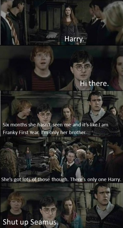 Hahaha :D The best moment in Harry Potter and the Deathly Hallows part 2 :D
