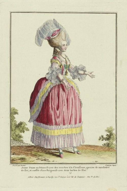 Gallerie des Modes, 1778.  I needs it!