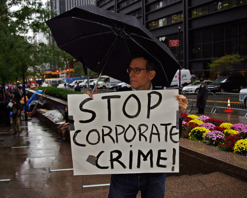 "jayrosen:  Why NPR won't give air time to the Occupy Wall Street protests in lower Manhattan. No crowds, celebrities, mayhem or soundbite-able demands? No coverage for you.  From the NPR ombudsman's blog:  NPR hasn't aired a story on the ""Occupy Wall Street"" protest — now entering its second week — but several of you aired your concerns about the lack of coverage, and Ralph Nader called to say NPR is ignoring the left.. We asked the newsroom to explain their editorial decision. Executive editor for news Dick Meyer came back: ""The recent protests on Wall Street did not involve large numbers of people, prominent people, a great disruption or an especially clear objective.""  Well, at least we have an answer about priorities at NPR that people can argue with. That's good. That's transparency. Prominent people, huh? As opposed to young people giving up their lives to sleep outside in rain, filth and noise and perhaps get maced to make a political statement about accountability on Wall Street… Disruption? And that differs from an invitation to mayhem how… exactly? Dick Meyer's statement should be a widget. Meaning: NPR should keep a rolling list of candidate-for-coverage stories that it is not covering with a clear explanation for why it is not covering them, and then place it around npr.org as a sidebar. UPDATE: NPR caves! Or maybe it's more accurate to say they changed their mind. Photo by David Shankbone, Creative Commons Attribution 2.0"