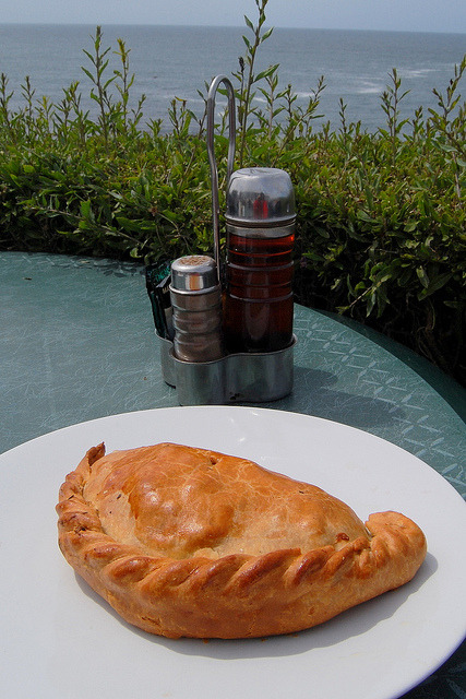 clottedcreamscone:  Cornish Pasty by Uglix on Flickr.