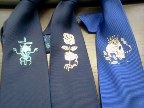 Sinister Tie Collection