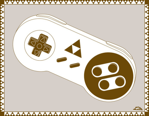 insanelygaming:  A Link To Your Past - by Bree Mateljan Society6 | Website