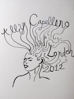 Competition Entry for '2012, how do you see it?' for Ally Capellino Designer: Lucy Crowder