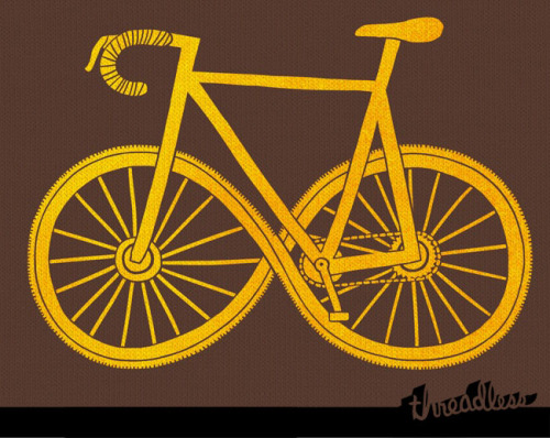 threadless:  Pedal over and score Cycle Forever by kathleenisradical. It's a new design in the Chrome Industries design challenge!