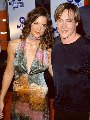 Katie Holmes and Chris Klein. (photographer unknown)