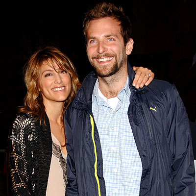 Jennifer Esposito and Bradley Cooper. (photographer unknown)