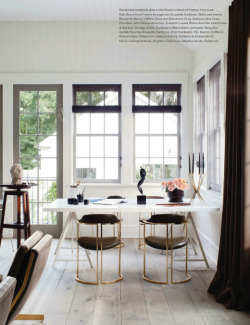 theaestate:  House of Windsor…Those chairs are simply perfect via Everything Fabulous